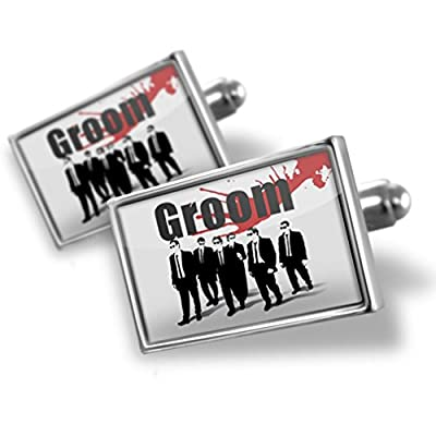 Cufflinks Wedding Blood Groom Reservoir Dogs - Neonblond