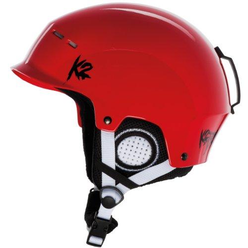K2 Herren Skihelm Rant, Red, 51-55, 1034022.1.2.S