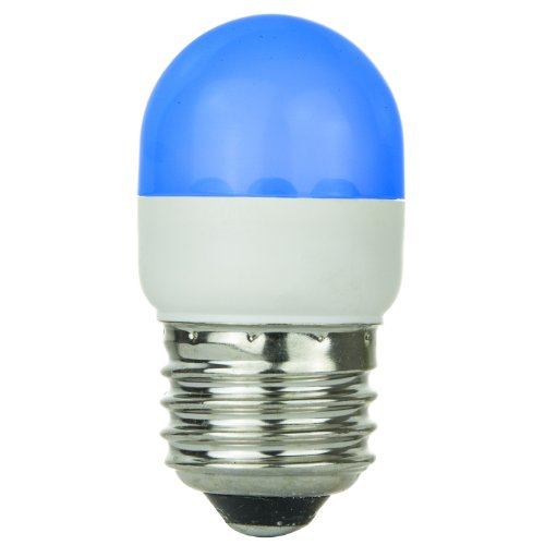 Sunlite 80251-Su T10/6Led/1W/B Led 120-Volt 1-Watt Medium Based T10 Lamp, Blue