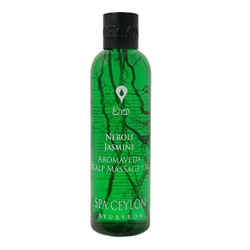 Spa Ceylon Luxury Ayurveda Neroli Jasmine Aromaveda Scalp Massage Oil,250ml