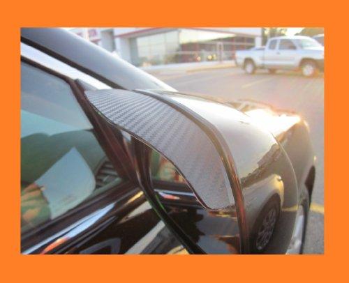 2006-2012 LEXUS IS250 IS 250 BLACK CARBON FIBER SIDE MIRROR VISOR RAIN GUARDS 2007 2008 2009 2010 2011 06 07 08 09 10 11 12 (Lexus Is 250 Rain Guards compare prices)