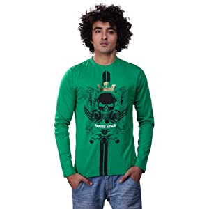 Inkfruit Men T Shirts IFW 1184 Green