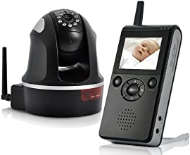 BW Deluxe Wireless Baby Monitor - Black
