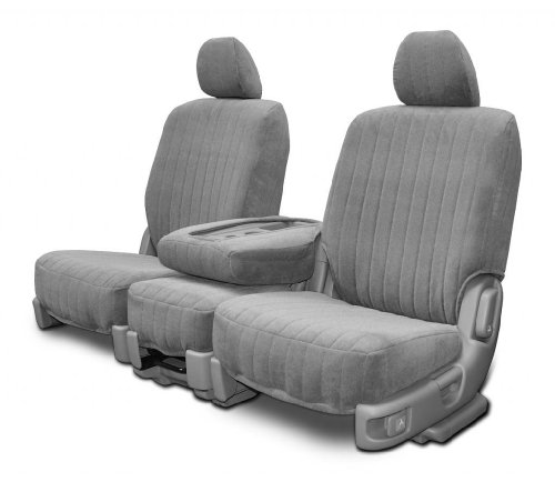 Custom Seat Covers - Toyota Tacoma Low Back - Silver Dorchester Fabric