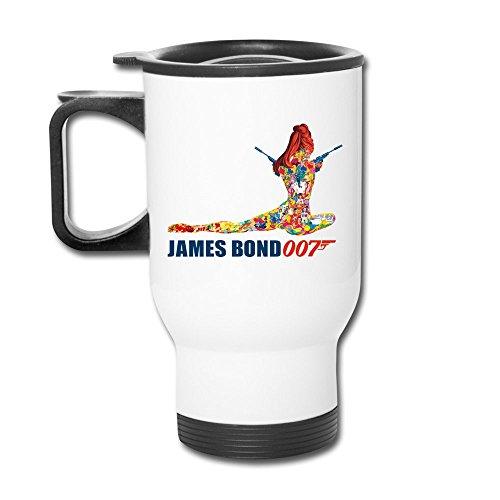 TIAHONGXING 007 James Bond Mugs Cute