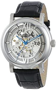Stuhrling Original Men's 426AL.SET.01 Winchester XT Automatic Skeleton Leather Watch with Additional Strap