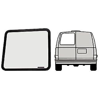 VW40391L - CRL Fixed Window - Left Rear Door 1997+ Chevy/GMC Vans 23-1/8