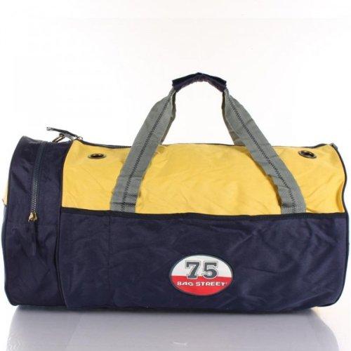 Sporttasche Reisetasche Bag Street variabel blau-gelb