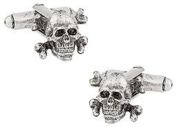 Skull & Crossbones Cufflinks by Cuff-Daddy