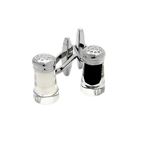 Cuff-Daddy Salt & Pepper Cufflinks