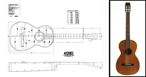 plan-of-a-vintage-martin-style-parlor-parlour-guitar-full-scale-print