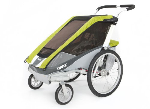 Thule Chariot Cougar Single Stroller - Avocado front-879460