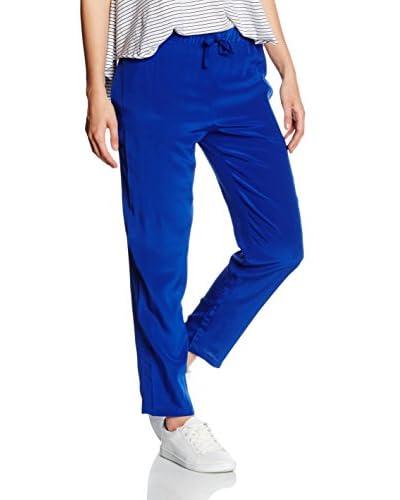 Stefanel Pantalone Seta [Blu]