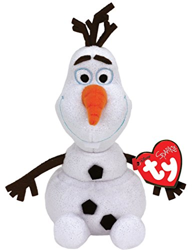 "Ty Disney Frozen Olaf - Snowman Medium 13"" - 1"