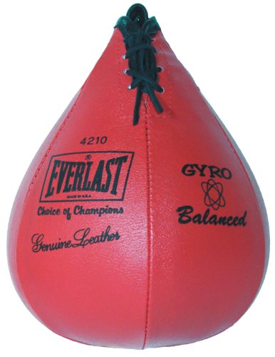Everlast Speed Bag 4214 Leather 10&#8243;x7&#8243;
