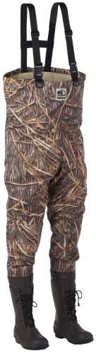 Buy Men's Hodgman® Wadelite® 600-gram Thinsulate Ultra Insulation Waterfowl Breathable Lace-Up Bootfoot Chest Waders Mossy Oak® Shadow Grass