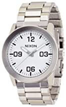 Nixon Private SS White Dial Stainless Steel Mens Watch A276100