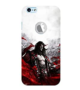 EPICCASE Ruthless Vampire Mobile Back Case Cover For Apple iPhone 6, 6S Logo Cut (Designer Case)