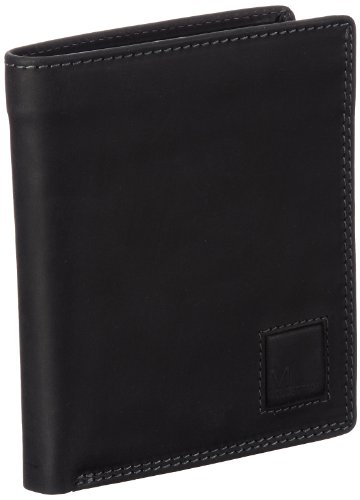 M-Collection Unisex - Adult Mingles Wallets Black Schwarz (black 900) Size: 11x12x1 cm (B x H x T)