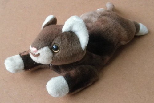 TY Beanie Babies Pounce the Cat Plush Toy Stuffed Animal