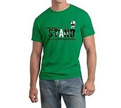Dmovlov Men's Cotton T-Shirt (D1RN0M0G _Green_40)
