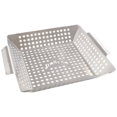 JIM BEAM JB0127 STAINLESS STEEL SQUARE GRILLING WOK JIM BEAM JB0127 STAINLESS STEEL SQUARE GRILLING