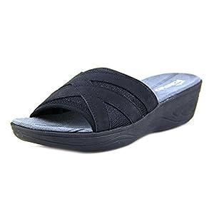Easy Spirit Mariner Wedge Sandals  - Size 9.5