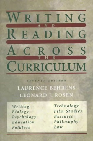 Writing and Reading Across the Curriculum (7th Edition)