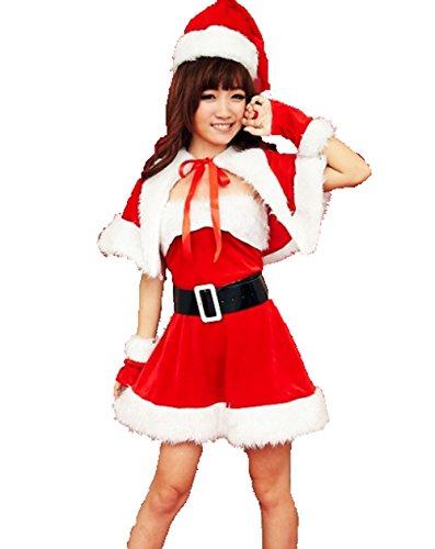 XASAPサンタ   衣装 サンタクロース クリスマス コスチューム セクシー