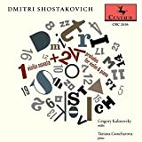 Dmitri Shostakovich: 1 Violin Sonata + 24 Preludes for Violin & Piano