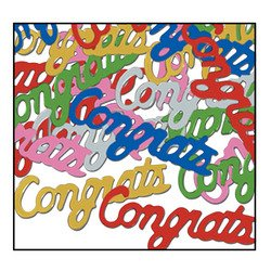 Congrats Fanci-Fetti (multi-color) Party Accessory  (1 count) (.5 Oz/Pkg)
