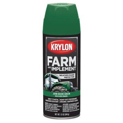 Krylon 1817 Farm & Implement Paint, 12 oz, John Deere Green