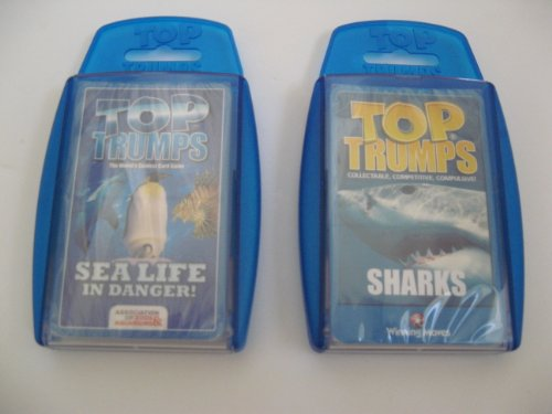 Top Trumps - Sea Creatures - 2 pack with Sharks and Sealife (Top Trumps Sharks compare prices)