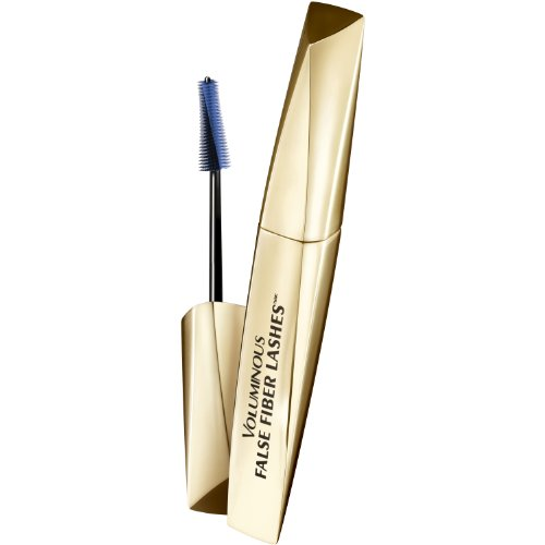 Discover a breakthrough in fiber mascara technology. Voluminous false fiber lashes features a unique blend of long and short nylon and rayon fibers-the same material used to make false lashes-to deliver lashes that appear fuller, longer, curled and sculpted. No clumps or messy results. Just outrageous volume from every angle.
