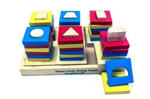 Shape Cavity Sorting Towers