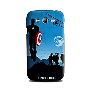 Samsung Galaxy Grand DUOS Designer Printed Case & Covers (Samsung Galaxy Grand DUOS Back Cover) - Superhero Captain America