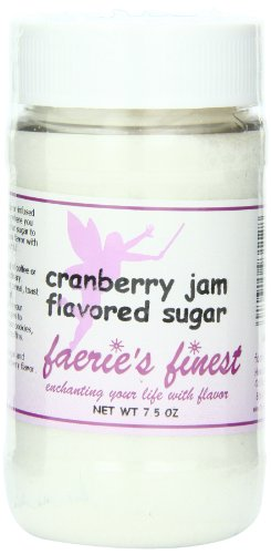 Faeries Finest Sugar, Cranberry Jam, 7.5 Ounce