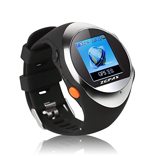 ZGPAX-PG88-Smartwatch-Montre-Intelligente-de-Plein-Air-avec-GPS-Location-SOS-Prvenir-La-Perte-Smartwatch-de-Sport-SIM-Smartphone-Silber