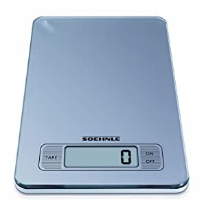 Soehnle 66107 Slim Design Digital Kitchen Scale