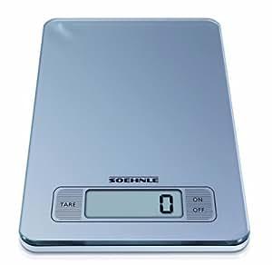 Soehnle 6208309 Balance Electronique Page Argent 5 Kg / 1 g