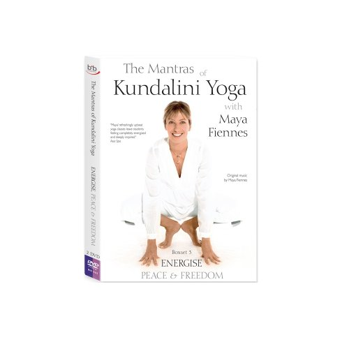 Maya Fiennes - The Mantras Of Kundalini Yoga - ENERGISE, PEACE & FREEDOM [DVD]