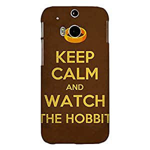 Jugaaduu LOTR Hobbit Back Cover Case For HTC One M8 Eye