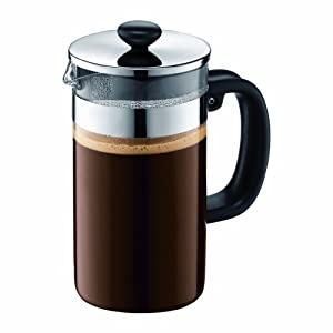 Bodum Shin Bistro 8 Cup Coffee Press, (No Cork) 34-Ounce
