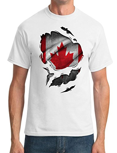 flag-of-canada-exclusive-quality-t-shirt-for-herren-2xl-shirt