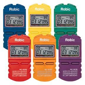 Blue Robic Sc-505W 12 Memory Stopwatch