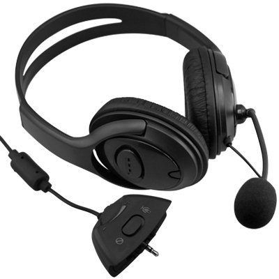 Headset Headphone + Mic Microphone For Xbox 360 Live