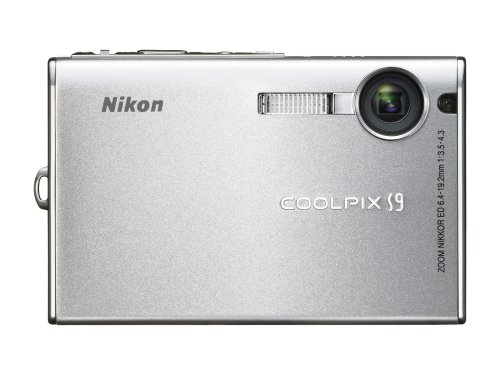 Nikon Coolpix S9 silver :  digital cameras digital nikon coolpix s9 silver cheap