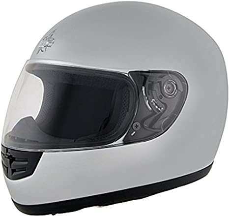 Roadstar 0.502.88 mini integral casque-argent