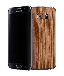 dbrand Zebra Wood Back Mobile Skin for Samsung Galaxy S6