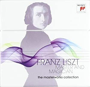 Franz Liszt: Master & Magician (The Masterworks Collection) (25 CD/1 DVD)